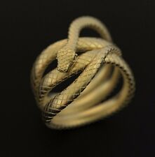Snake Ring Wax patterns for lost wax casting gold silver jewelry (5 pcs)#211280