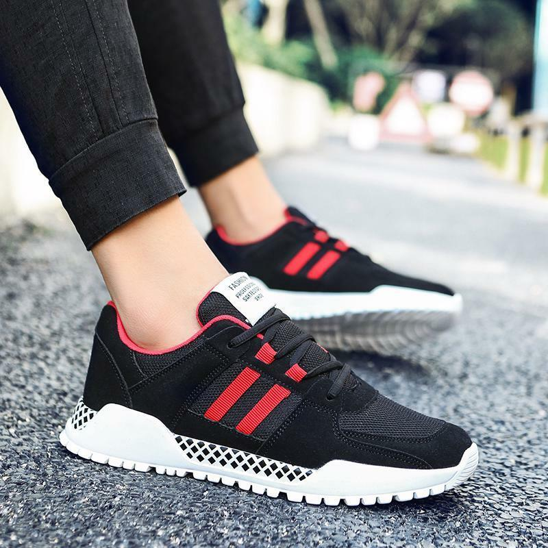 Running shoes Breathable Male Comfortable Sports shoes Jogging Footwear's Adult