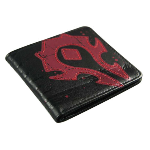 World of Warcraft WOW Horde Alliance Leather Wallet Purse Collectible Game Gift