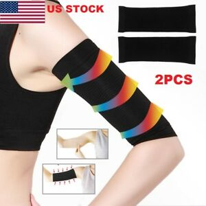 Us 1pair Women Slimming Arm Shaper Weight Loss Cellulite Fat Slim Wrap Belt G S Ebay