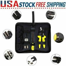 Self Adjusting Insulation Wire Stripper Cutter Crimper Cable Stripping Tools