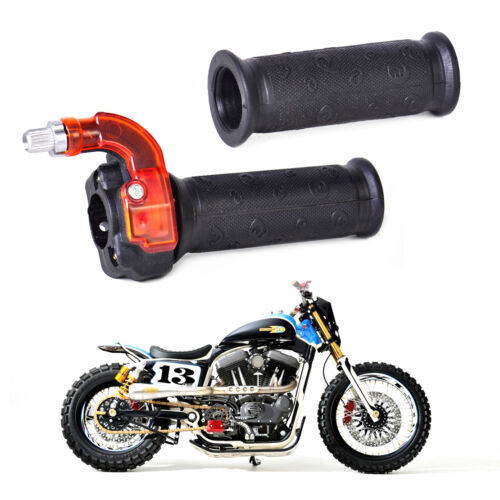 Pair Twist Throttle Accelerator Grips Handle for 49cc Mini Bike ATV Quad Dirt