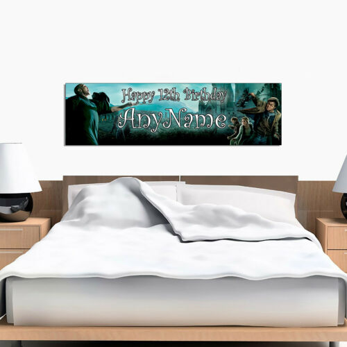 Personalized /& Custom Printed Harry Potter Bedroom Poster Banner Decoration