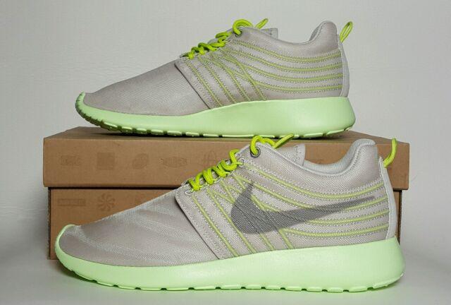 84ad86c3a31d Nike Rosherun Roshe Run DYN FW Flywire QS Gamma Grey Light Charcoal ...