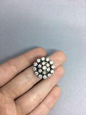 Handmade Ottoman Turkish Arabic 925 Silver topaz high quality  ring size 8.5