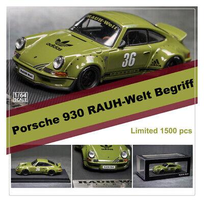 Adidas\u0026Model Collect 1:64 Porsche 930