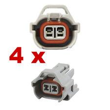 Pluggen injectoren - NIPPON DENSO (4 x FEMALE) connector plug verstuiver fcc kfz