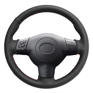 Image Is Loading Top Leather Steering Wheel Hand Sch On Wrap