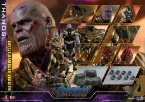 Hot Toys MMS564 Infinity war Endgame Thanos 4.0 Battle Damage Avengers  ironman