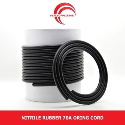 à partir de 1 mètres Caoutchouc nitrile 70 o ring cordon diamètre 1.6MM fournisseur britannique