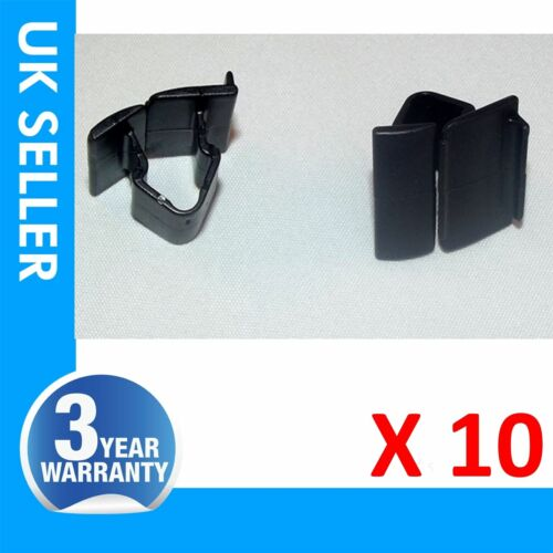 10X pour Fiat Doblo Punto Bravo 500 Hood Bonnet Isolateur Panel Trim Clips