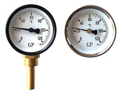 Solid Metal Industrial Temperature Gauge Dial For Heating
