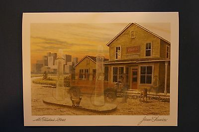 The Pumpkin Man James Lumbers Collectors Art Cards Six Pack No Envelopes