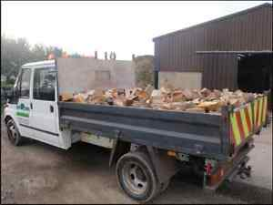 PICK-UP-LOAD-TIPPER-PART-SEASONED-LOGS-FIREWOOD-TIMBER-HARD-SOFT-WOOD-MIDLANDS