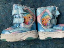 5-6 Pink Small Disney Frozen Toddler Girls Winter Boots