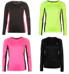 Karrimor Top T-Shirt Long Sleeve Women's Running Shirt Jogging Fitness 6137