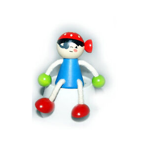 """Hess 14713 Swinging Figure """" Pirate """" With Spring From Erzgebirge New Toys & Hobbies #"""