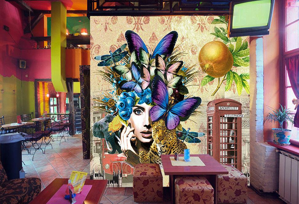 3D Paint Man 51 Wallpaper Murals Wall Print Wallpaper Mural AJ WALLPAPER UK