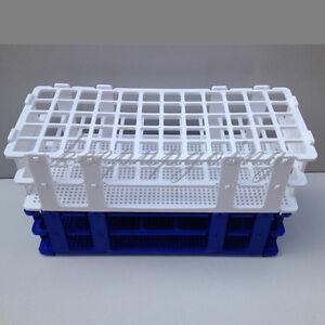 Plastic Laboratory Lab Test Tube Rack Holder Centrifugal Pipe Stand 72 Holes Laboratory Supplies
