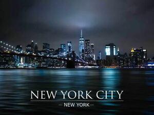 New York Wall Art New York Gift USA print New York Skyline New York Decor New York print Life Tower print New York Night print