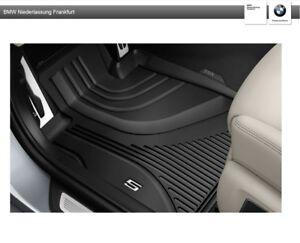 Original BMW 5er G30 G31 Satz Allwetter Fussmatten Gummimatten Automatten vorne