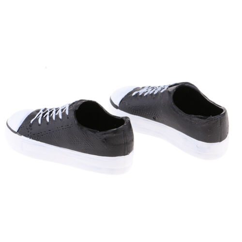 1//6 Scale Female Board Shoes for 12inch Action Figure Doll Accessories Black