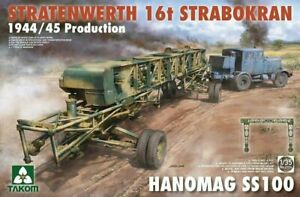 Takom-2124-1-35-Stratenwerth-16T-Strabokran-1944-45-Production-Hanomag-SS100