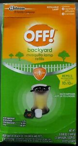 OFF! Backyard Mosquito Repellent Lamp Refill, Contains two ...