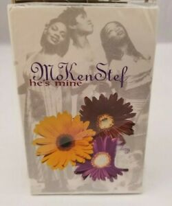 MoKenStef-Cassette-Tape-Single-He-039-s-Mine-NEW-Sealed-1995-Soul-R-amp-B-FREE-SHIPPING