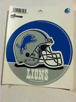 "Detroit Lions Round 4.5"" Vinyl Decal"