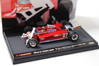 Auto- & Verkehrsmodelle Hilfreich 1:43 Brumm Ferrari 126 Ck Turbo Montreal Gp Gilles Crash New Bei Premium-modelca Niedriger Preis