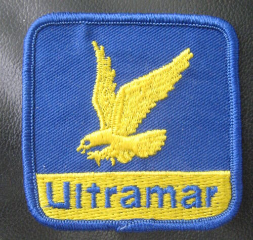 """ULTRAMAR OIL GAS EMBROIDERED SEW ON PATCH UNIFORM ADVERTISING CANADA 2 1//2/"""""""