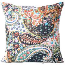 Black Cushion Cover Decorative Pillowcase Throw Pillow Cushion Cover 16 X 16Inch