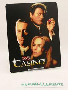 CASINO-robert-de-niro-Lenticular-3D-Flip-Magnet-Cover-FOR-bluray-steelbook