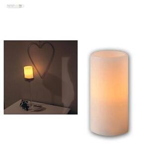 wachs kerze 15x7 5xm flackernde led flammenlose echtwachs mantel kerzen wei ebay. Black Bedroom Furniture Sets. Home Design Ideas