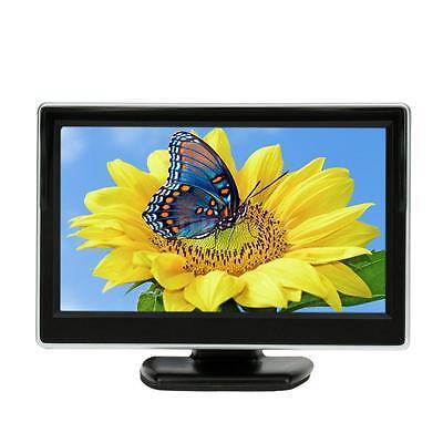 5 Inch TFT LCD Display Monitor Car Rear View Backup Reverse System 2 way J3C0