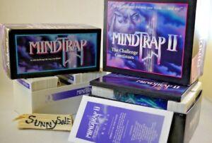 Vintage-1990s-Mindtrap-Mind-Trap-I-II-1-2-Puzzle-Board-Game-Lot-Mind-Teaser-Set
