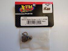 XTM Racing Parts - Servo Saver Screw L=19.7, XTRM, Mam - Model # 149457