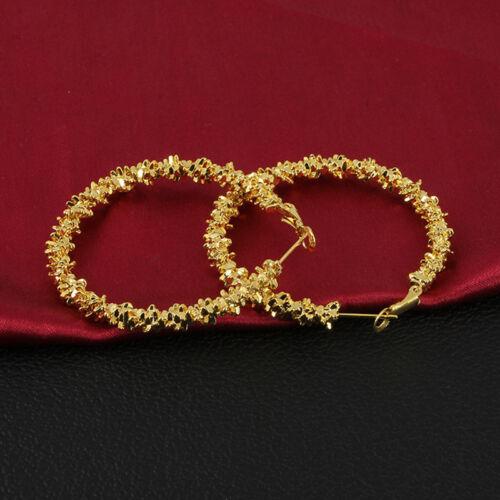 Mode Damen hakte Ohrringe quadratische Pille Gold//Silber lange Ohrringe-Sch Q1Q9
