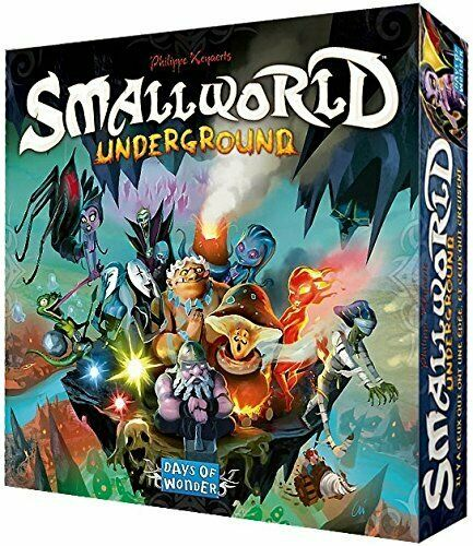 Days of Wonder Small World Underground Board Game Neuf Et Scellé