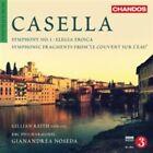 """Alfredo Casella - : Symphony No. 1; Elegia Eroica; Symphonic Fragments from """"Le Couvent Sur L'Eau"""" (2015)"""