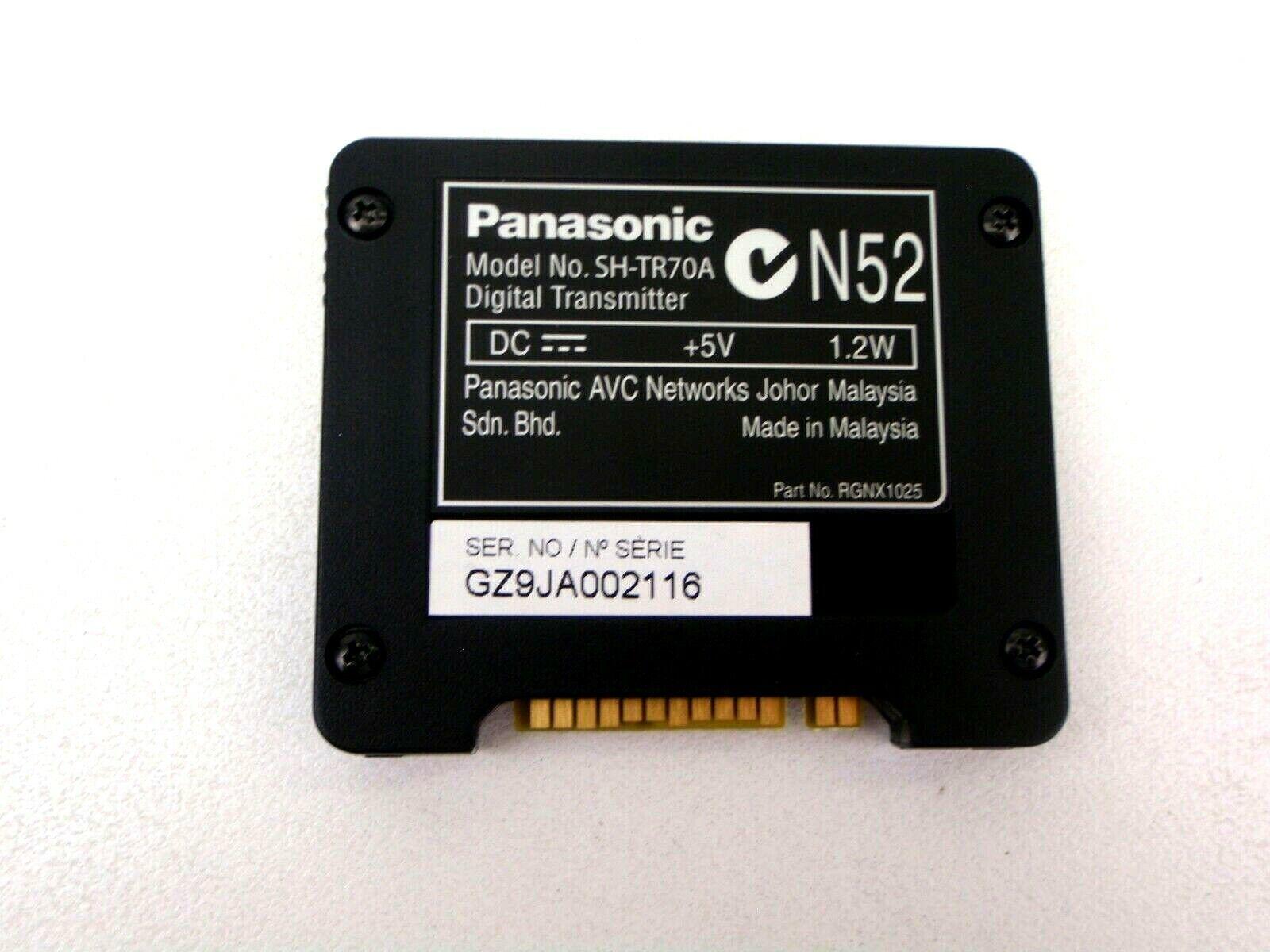 PANASONIC SH-TR70A GENUINE WIRELESS RECEIVER DIGITAL TRANSMITTER CARD