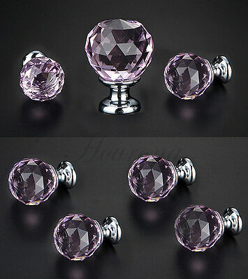 Diamond Crystal Cupboard Cabinet Dresser Drawer Wardrobe Door Knobs Handle Pull