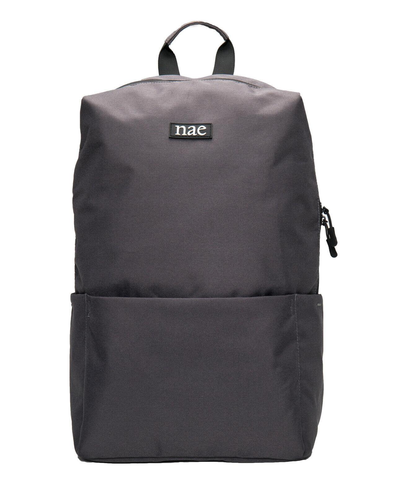 Vegan bag adjustable on recycled PET resistant with laptop sleeve pocket &...