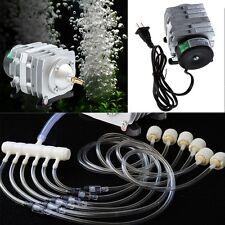 45L/min Electromagnetic Air Compressor Aquarium Oxygen Pond Air Pump Aerator 25W
