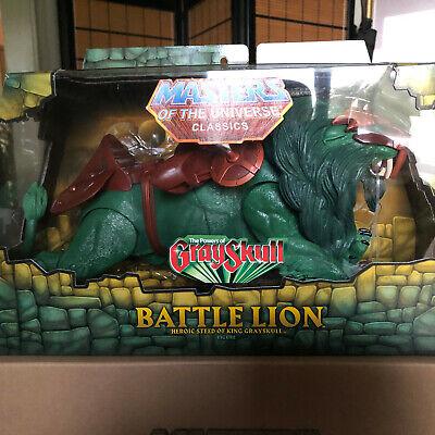 MOTUC Masters of the Universe Classics BATTLE LION MOC! NEW!!!
