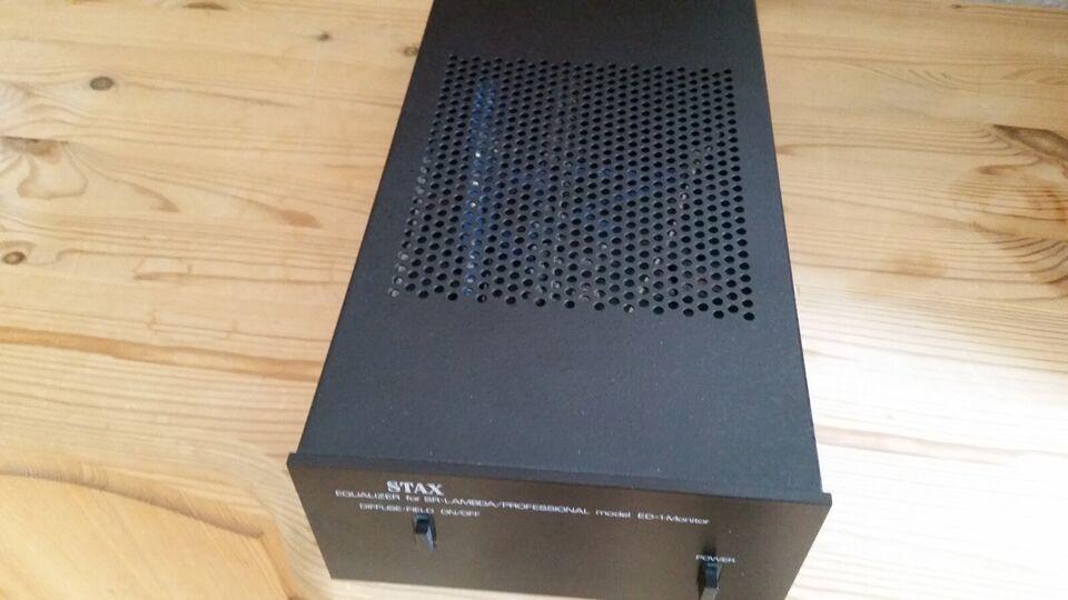 HiFi / DJ hovedtelefoner, Stax, Stax SRM-T1+Stax ED-1