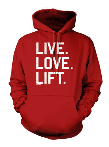 Love - Gym Workout Exercise Hoodie Sweatshirt Live Lift