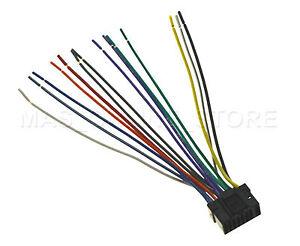 wire harness for alpine cda 9884 cda9884 pay today ships today ebay rh ebay com Alpine CDA 9884 Aux Cable Alpine Stereo Wiring Diagram