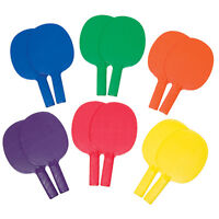 Gamecraft 1-piece Table Tennis Paddles - Prism Pack Set Of 6 on sale
